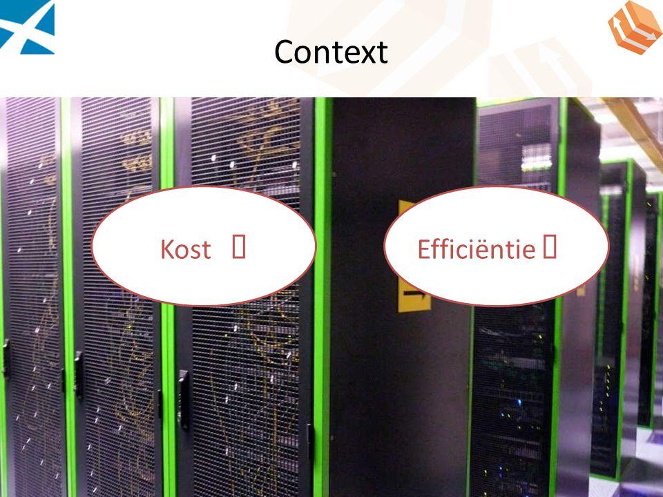 Context Kost â Efficiëntie á