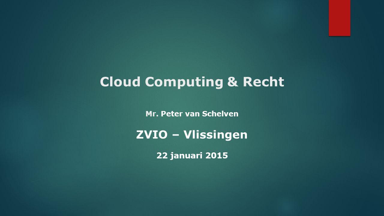 Cloud Computing & Recht Mr