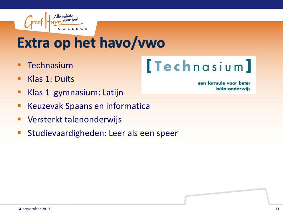 Extra op het havo/vwo Technasium Klas 1: Duits