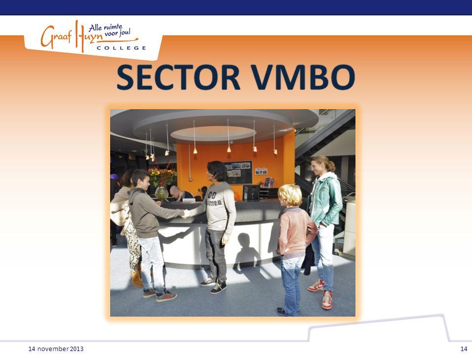 SECTOR VMBO 14 november 2013