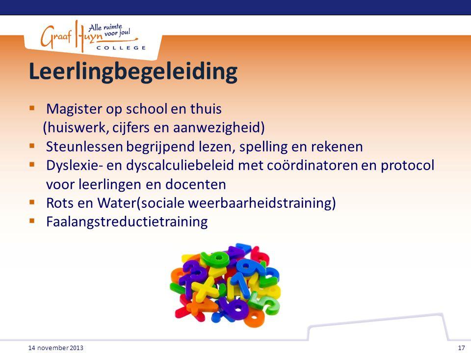 Leerlingbegeleiding Magister op school en thuis