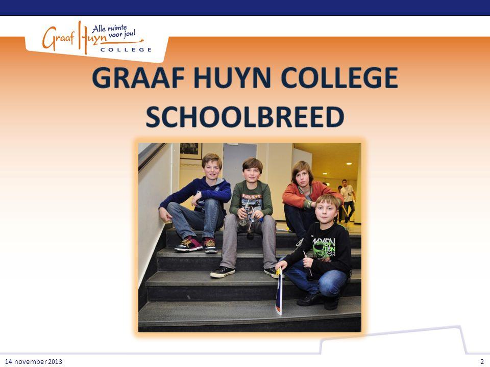 GRAAF HUYN COLLEGE SCHOOLBREED