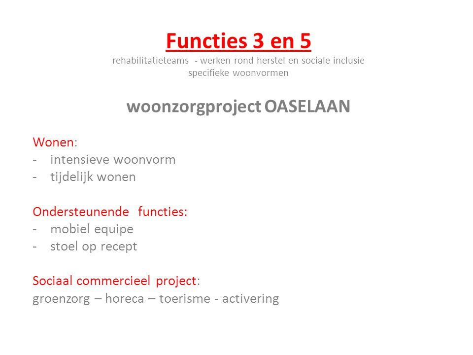 woonzorgproject OASELAAN