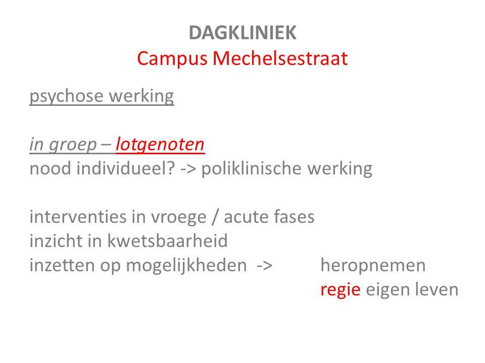 DAGKLINIEK Campus Mechelsestraat