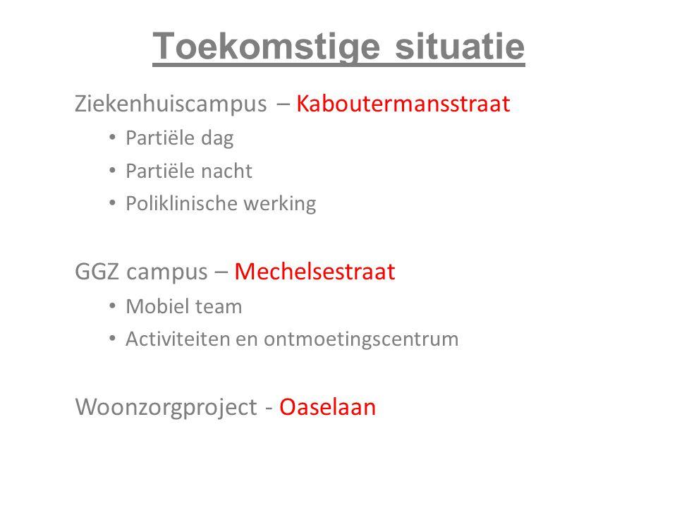 Toekomstige situatie Ziekenhuiscampus – Kaboutermansstraat