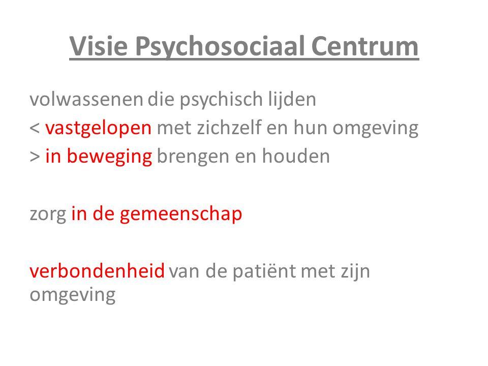 Visie Psychosociaal Centrum