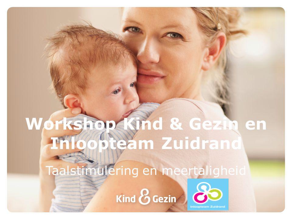 Workshop Kind & Gezin en Inloopteam Zuidrand