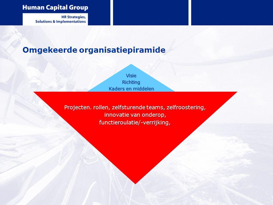 Omgekeerde organisatiepiramide