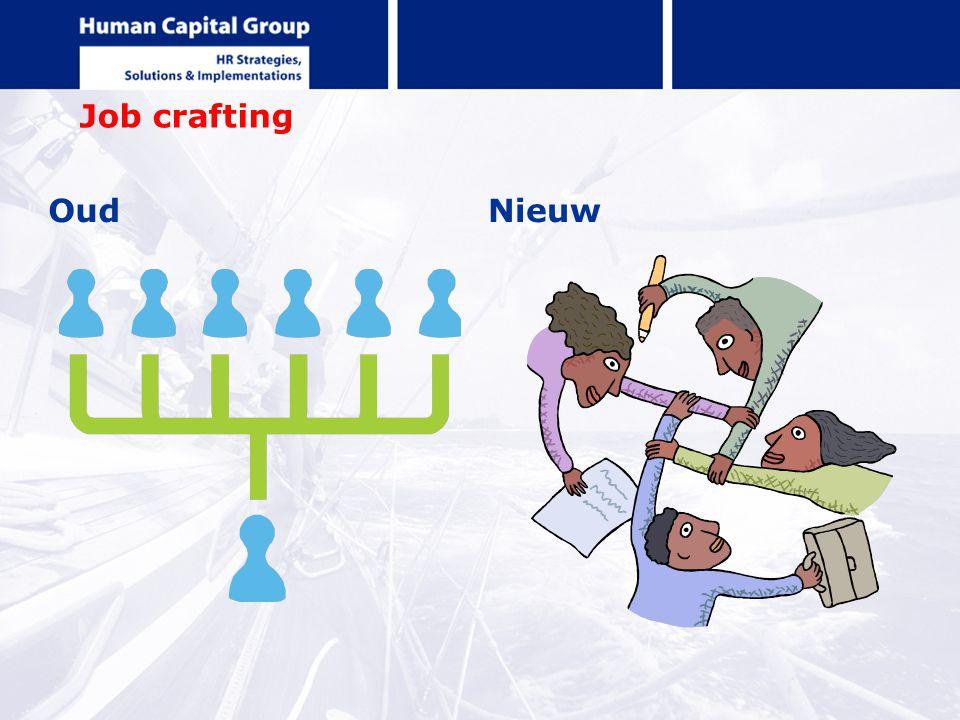 Job crafting Oud Nieuw