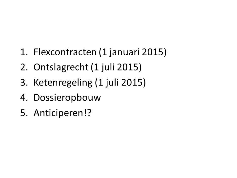 Flexcontracten (1 januari 2015)