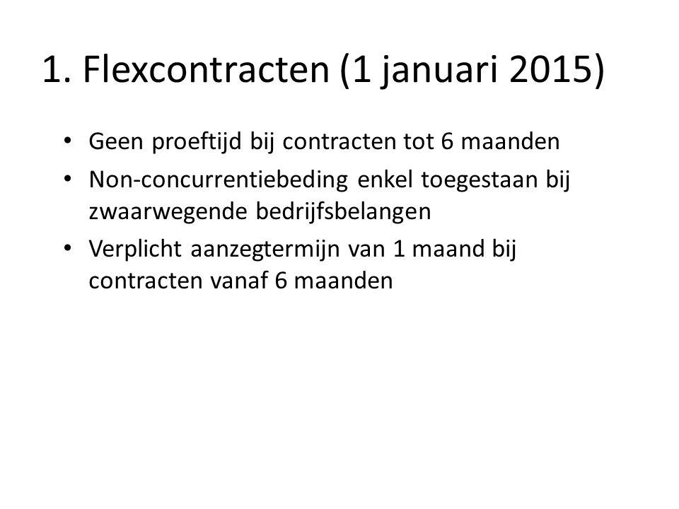1. Flexcontracten (1 januari 2015)