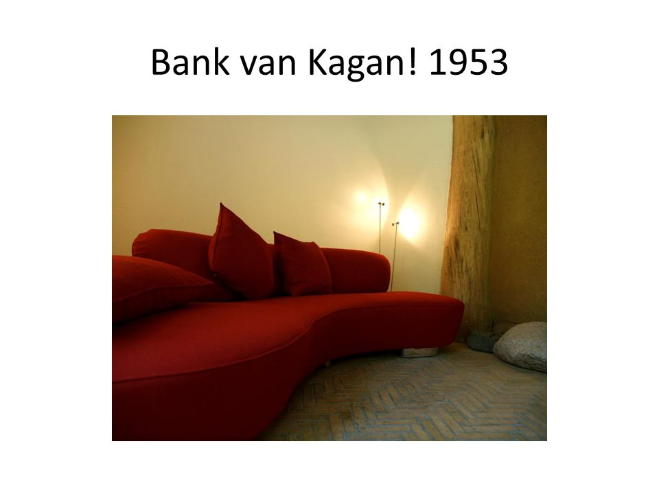 Bank van Kagan! 1953