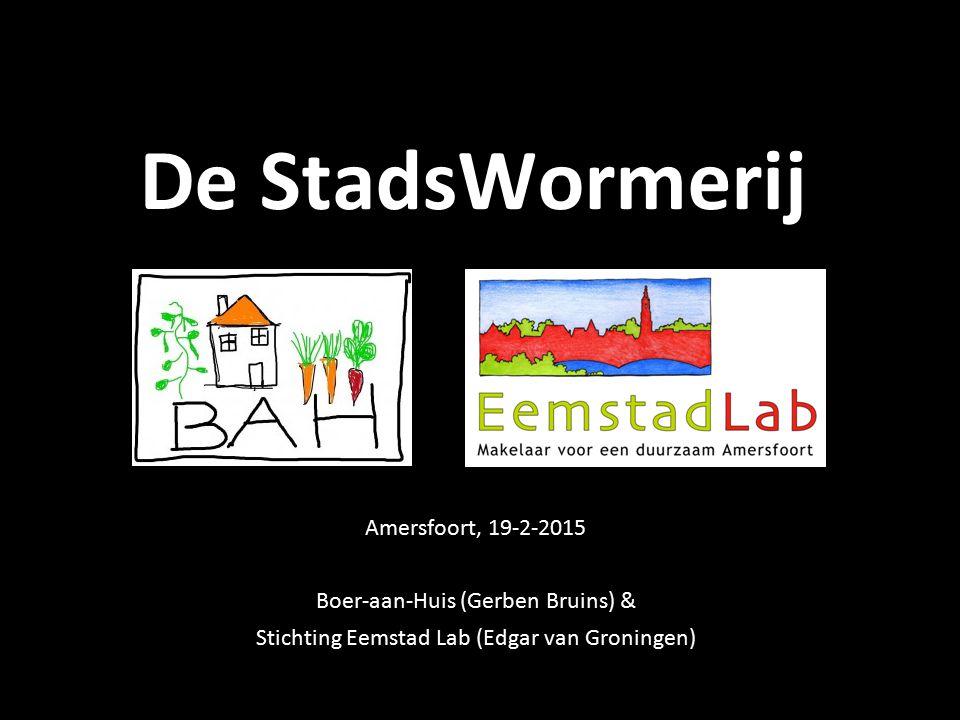 De StadsWormerij Amersfoort, 19-2-2015 Boer-aan-Huis (Gerben Bruins) &
