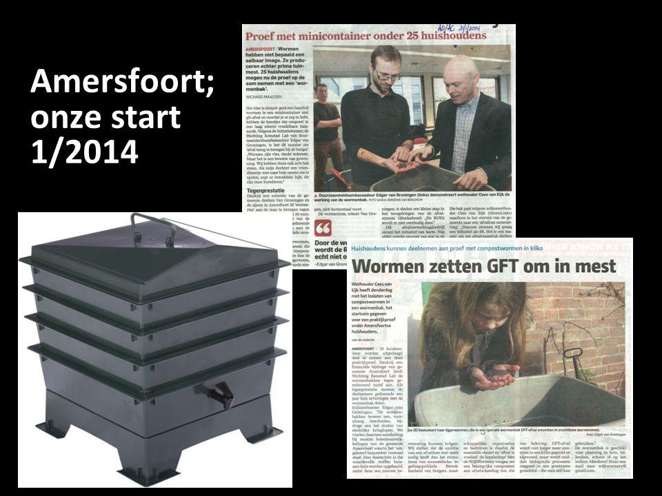 Amersfoort; onze start 1/2014