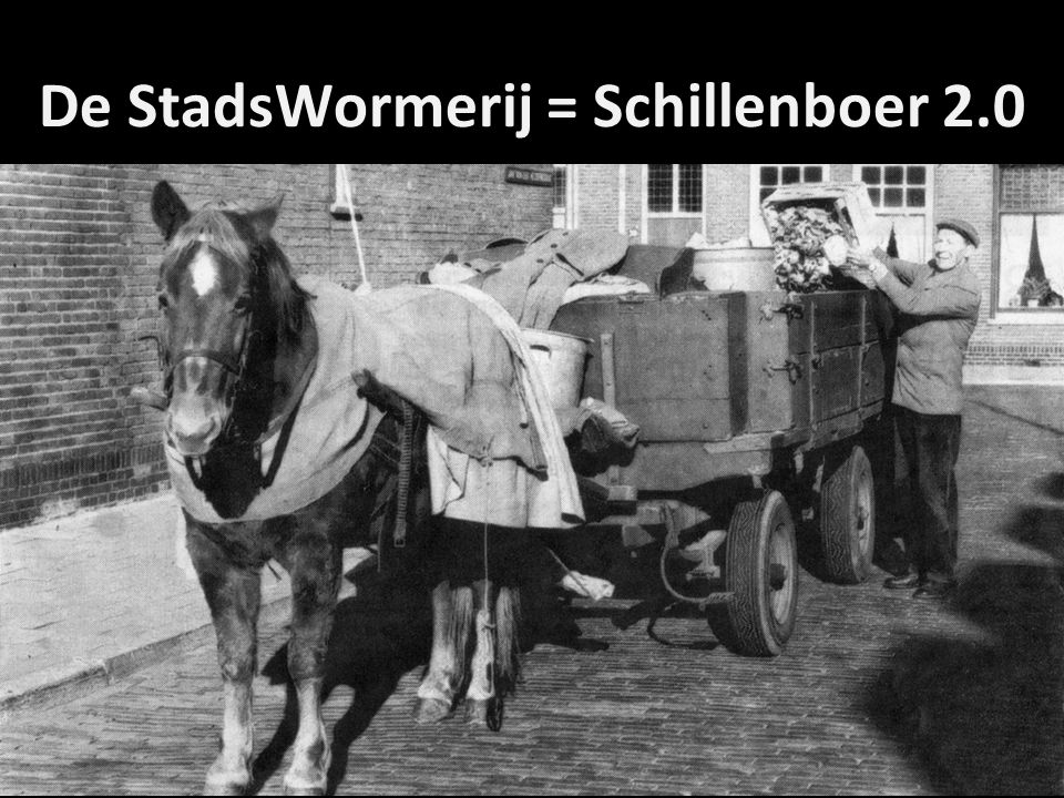 De StadsWormerij = Schillenboer 2.0