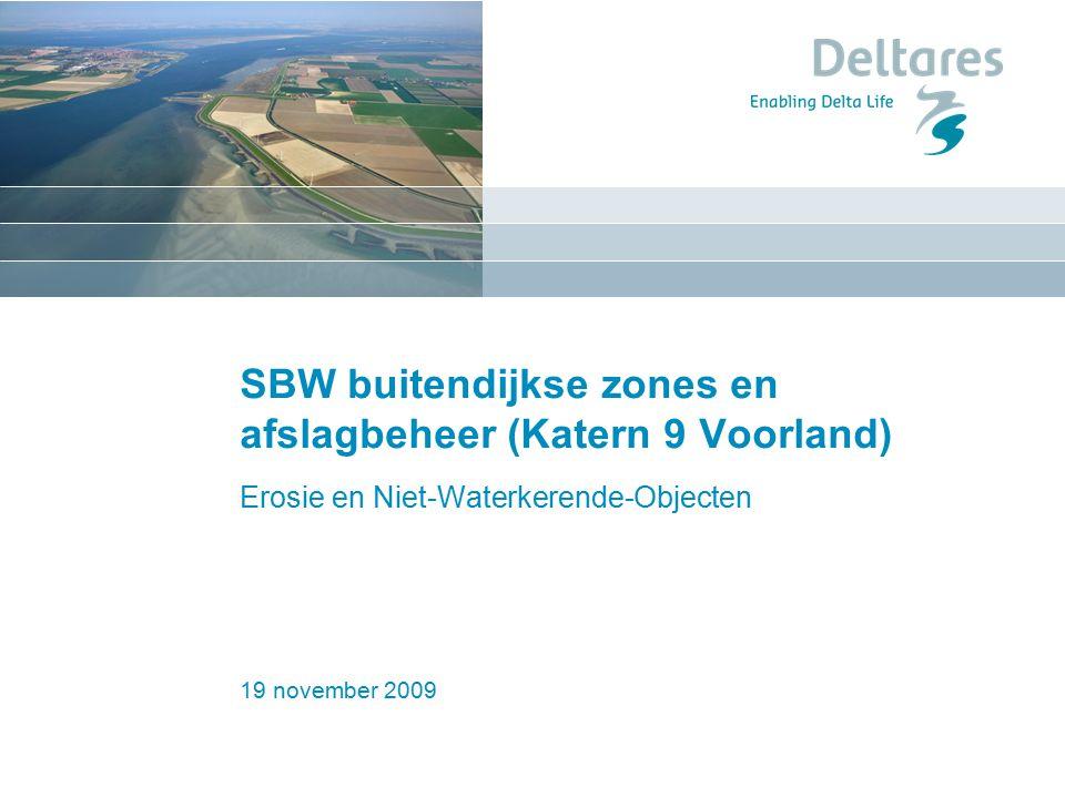 SBW buitendijkse zones en afslagbeheer (Katern 9 Voorland)