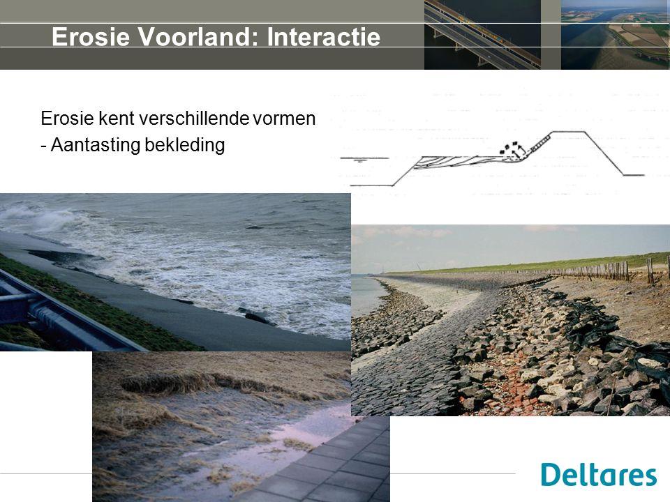 Erosie Voorland: Interactie