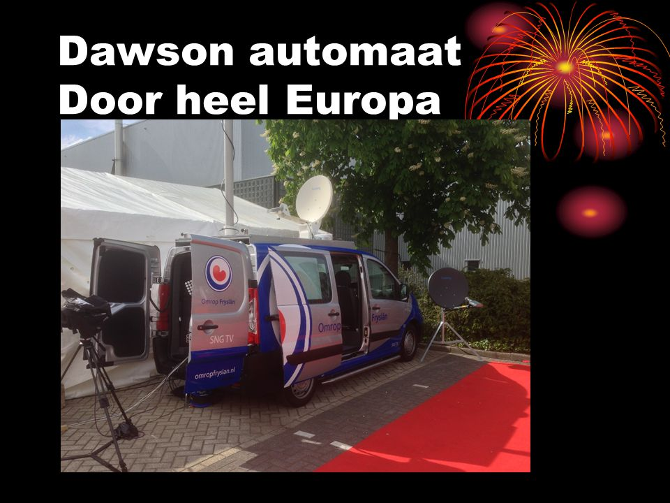 Dawson automaat Door heel Europa