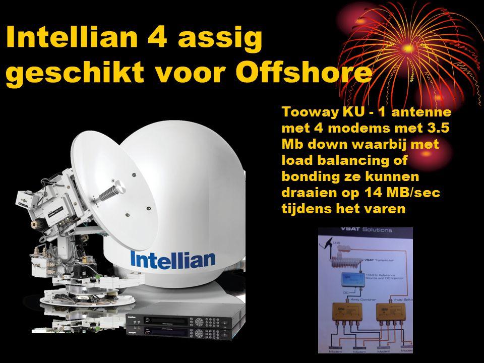 Intellian 4 assig geschikt voor Offshore