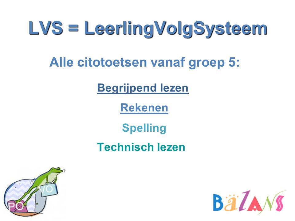LVS = LeerlingVolgSysteem