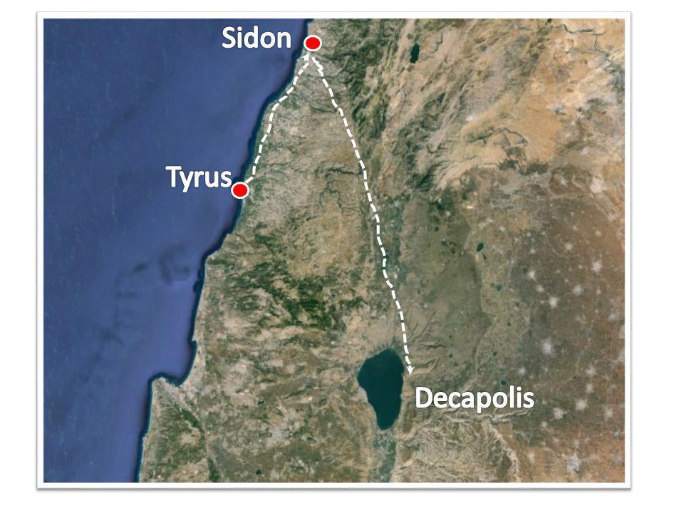 Sidon Tyrus Decapolis