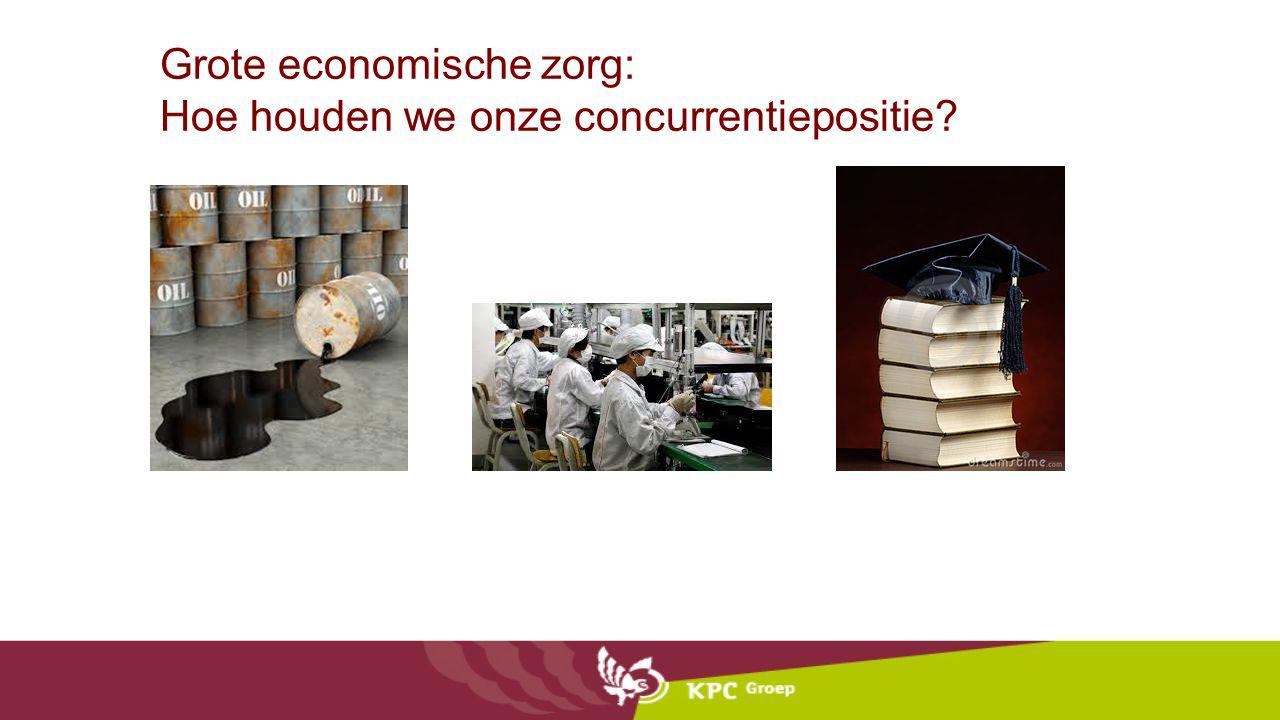 Grote economische zorg: Hoe houden we onze concurrentiepositie