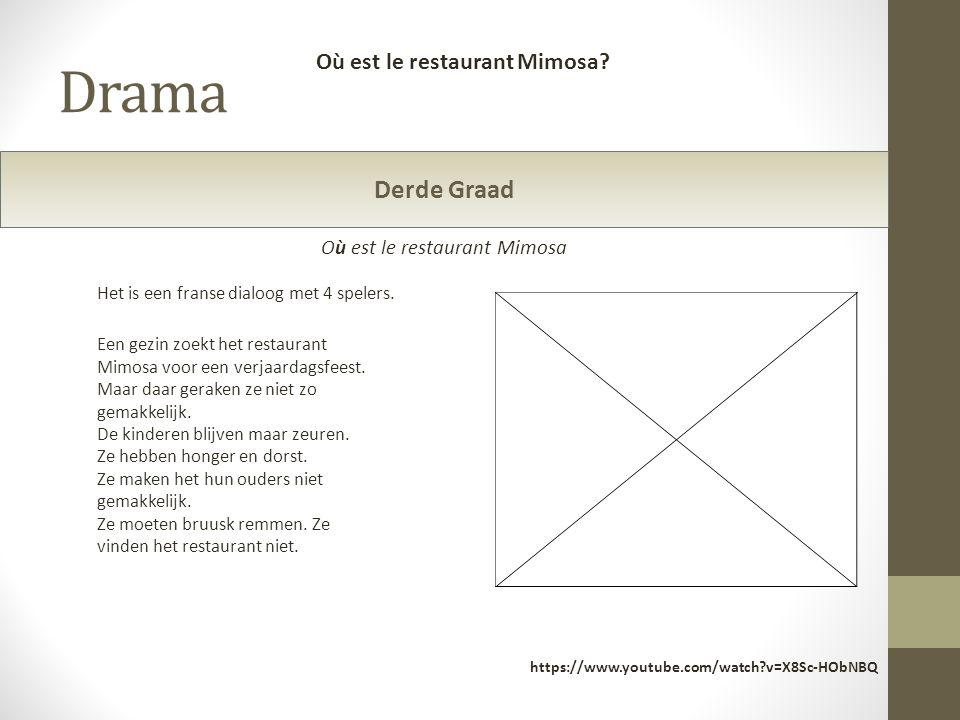 Où est le restaurant Mimosa