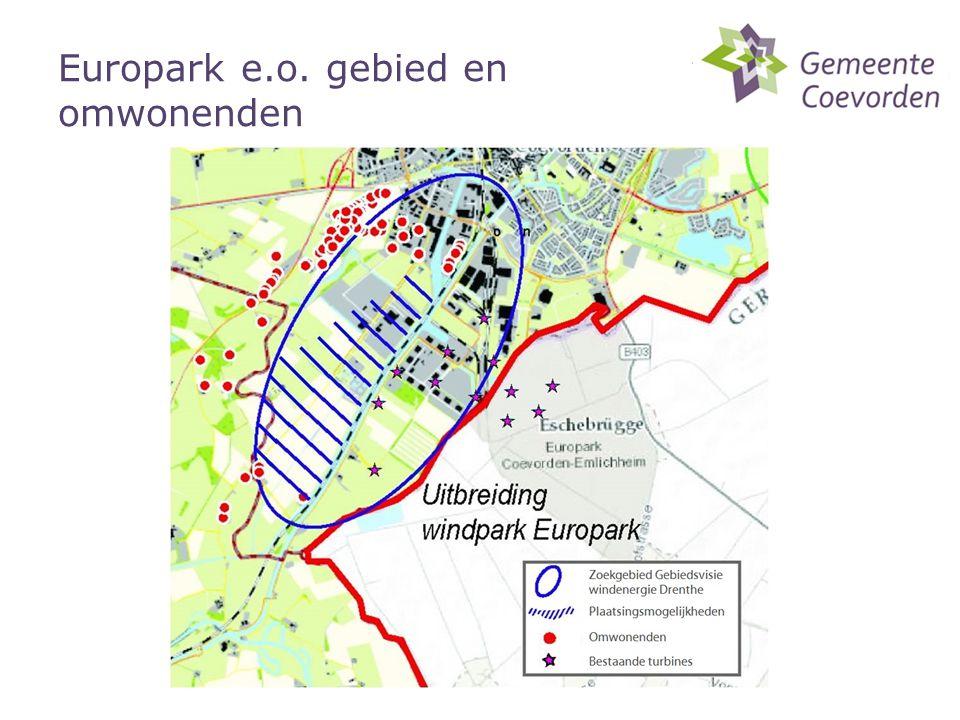 Europark e.o. gebied en omwonenden
