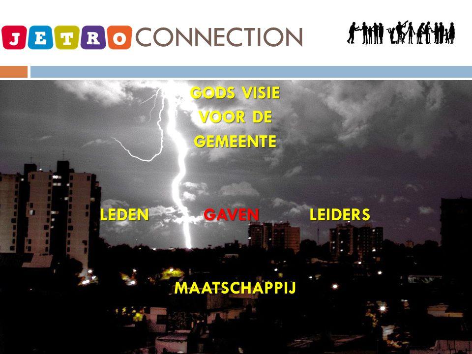 GODS VISIE VOOR DE GEMEENTE LEDEN GAVEN LEIDERS MAATSCHAPPIJ