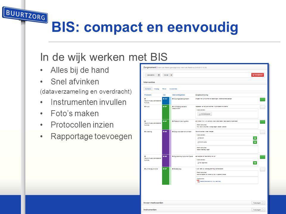 BIS: compact en eenvoudig