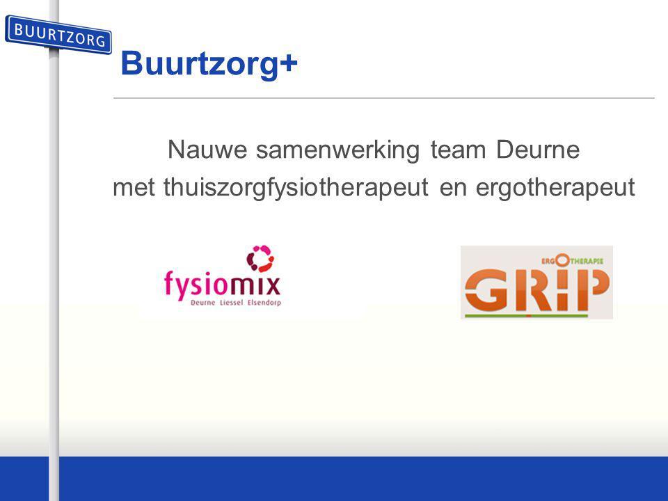 Buurtzorg+ Nauwe samenwerking team Deurne