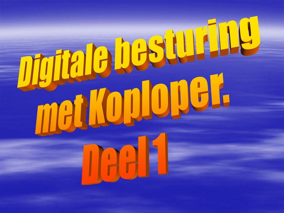 Digitale besturing met Koploper. Deel 1