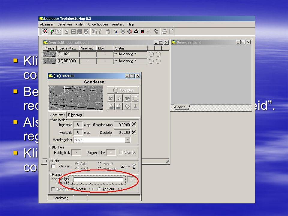 1.8 2e test Klik op het groene spiegel-ei om de communicatie te starten.