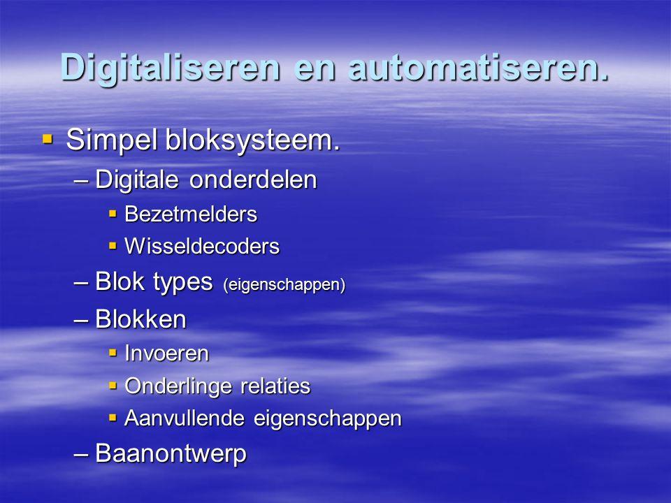 Digitaliseren en automatiseren.