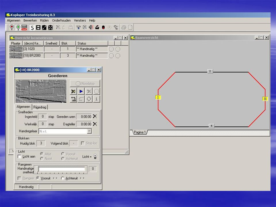 1.9.6 Simpel bloksysteem Rijden