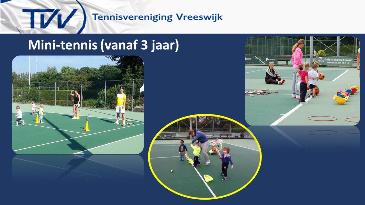 Mini-tennis (vanaf 3 jaar)