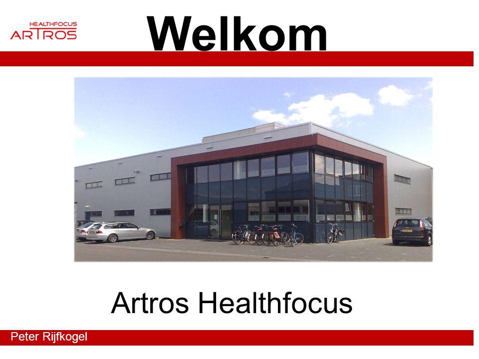 Welkom Artros Healthfocus Peter Rijfkogel