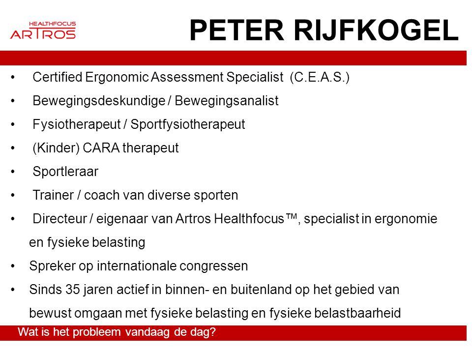 PETER RIJFKOGEL Certified Ergonomic Assessment Specialist (C.E.A.S.)