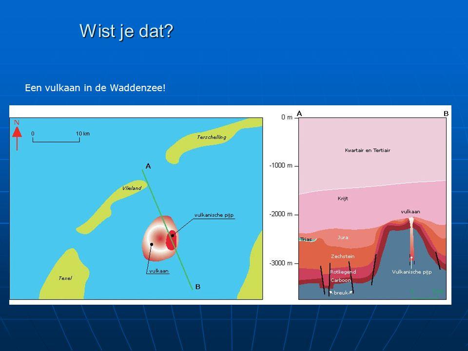 Wist je dat Een vulkaan in de Waddenzee!
