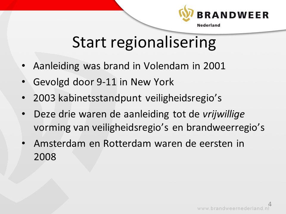 Start regionalisering