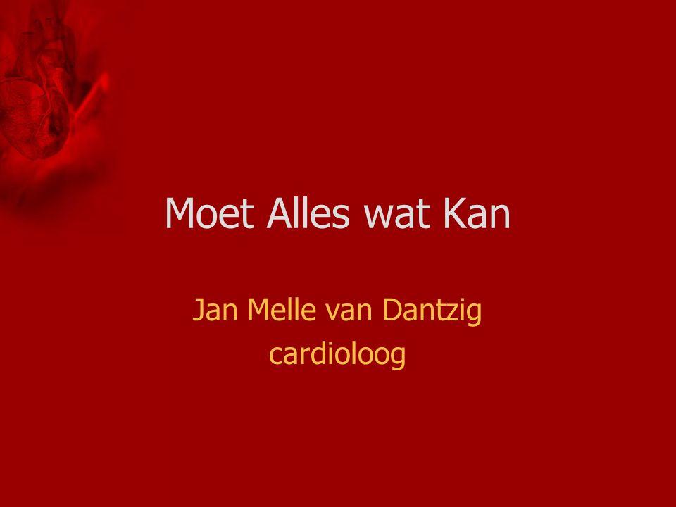 Jan Melle van Dantzig cardioloog