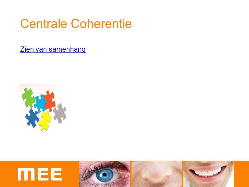 Centrale Coherentie Zien van samenhang