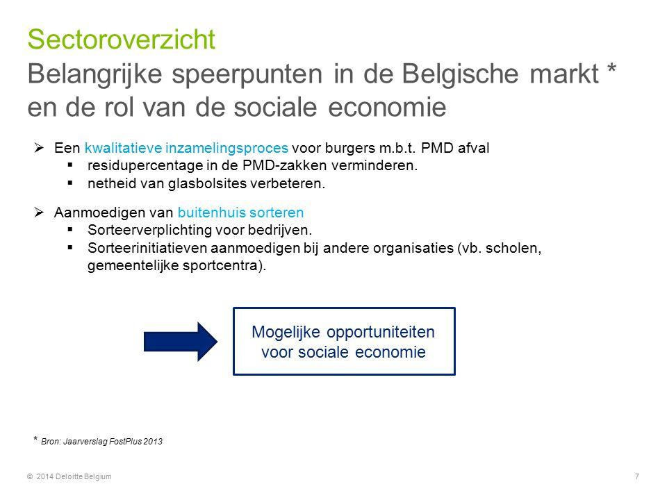 Mogelijke opportuniteiten voor sociale economie