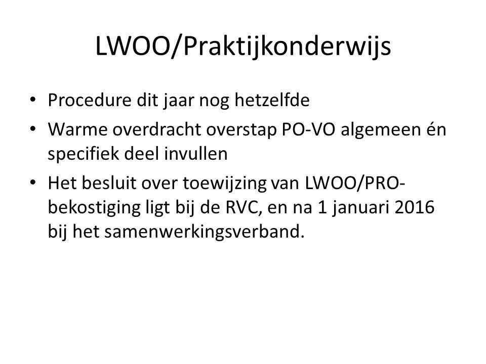 LWOO/Praktijkonderwijs