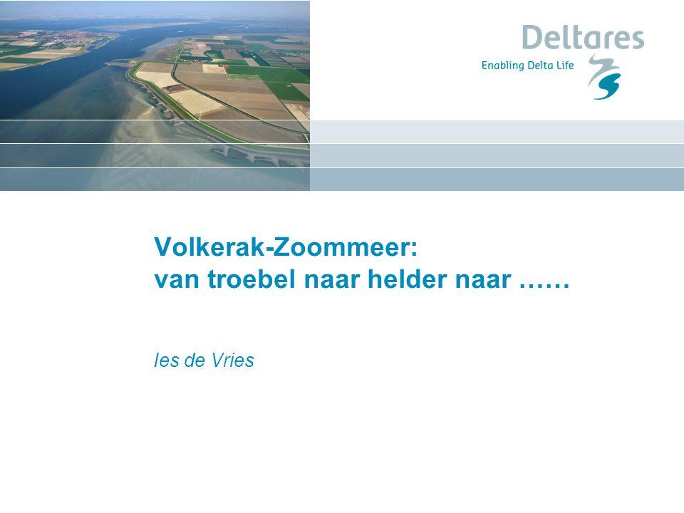 Volkerak-Zoommeer: van troebel naar helder naar ……