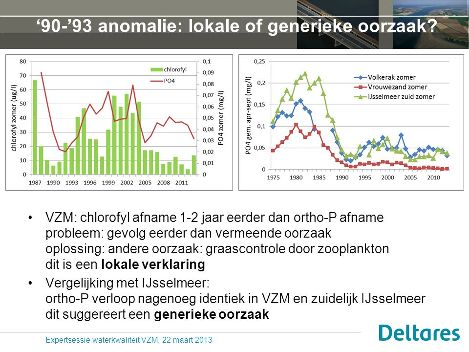 '90-'93 anomalie: lokale of generieke oorzaak