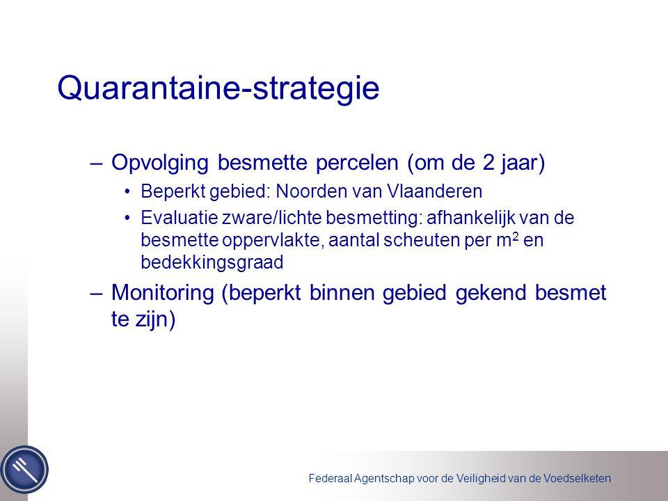 Quarantaine-strategie