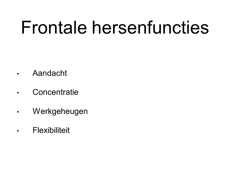 Frontale hersenfuncties