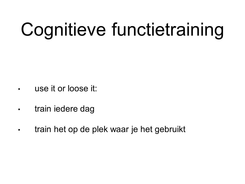 Cognitieve functietraining