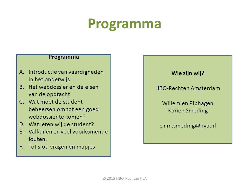 HBO-Rechten Amsterdam